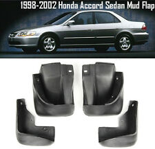 OE Front Rear set 4 Pcs Splash Mud Guards Flaps For 98-02 Honda Accord Sedan