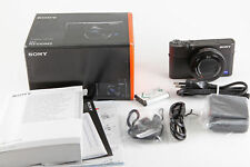 Sony Cyber-shot RX100 III 20,1 MP Digitalkamera - Schwarz OVP