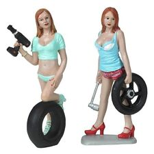 Motorhead Miniatures 1:18 Scale Michele & Meg Figurines