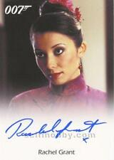 JAMES BOND ARCHIVES 2015 RACHEL GRANT AUTOGRAPH