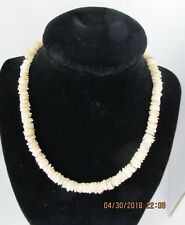 Vintage Puca Shell Necklace, One Owner, 1975, Gold Clasp