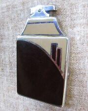 Ronson Art Deco Enameled & Chromium Plate Vintage Combo Cigarette Case Lighter