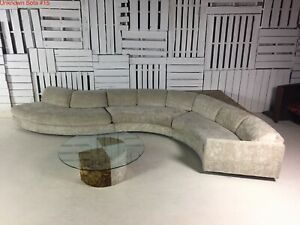 Vintage Adrian Pearsall Craft Associates Authentic Serpentine Sectional w/Tags!