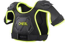 O'Neal Peewee Chest Guard Bicycle Dirt Bike Breastplate Neon Yellow XS/S