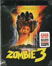 Zombie 3 - Limited Edition Blu Ray OST CD Severin Fulci Mattei Fragasso 1988