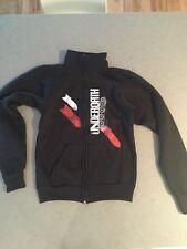 NEW Black UnderOath Jacket Fleece Unisex Zip Up Extra small
