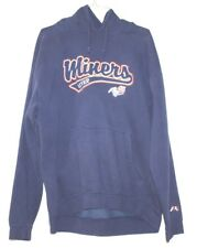 UTEP MINERS ADULT NAVY BLUE EMBROIDERED HOODED SWEATSHIRT XL Pre-Owned