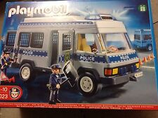 Playmobil  police van with flashing lights brand new and sealed 4023