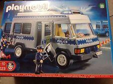 Playmobil POLICE FOURGON AVEC FEUX CLIGNOTANTS NEUF et scellé 4023