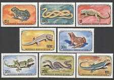 Mongolia 1972 Frogs/Snakes/Lizards/Reptiles 8v (n11607)
