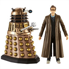 Dr Who - 10th Doctor & Dalek Twin Figure Set from The Stolen Earth David Tennant