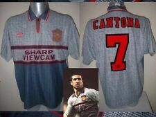 Manchester United Cantona Jersey Shirt M Soccer Vintage Umbro Football France