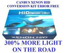 CANBUS XENON HID CONVERSION KIT ERROR FREE H7 6000K 55W   Uk Seller