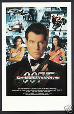 James Bond 007 Film Postkarten-deutsches Plakat für Morgen stirbt nie DP93