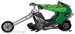 Frankenchopper Sticker Decal Artist Eric Pigors PG22