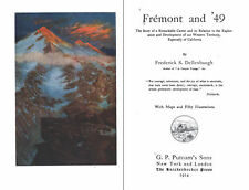CHARLES FREMONT AND '49 Frontier Mountain Men Explorers pdf