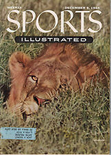 December 6, 1954 Sports Illustrated Original Weekly Issue - African Lion