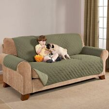 """Home Accents Reversable Sofa Protector 75"""" x 110"""", Sage"""