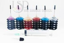6x30ml Refill ink kit for Epson 78 R260 R280 R380 RX580 RX595 RX680 Artrisan 50