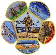2018 Central Florida Council Boy Scout Military Armed Forces CSP Patch Set Lot