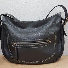 Longchamp Ledertasche, Schultertasche schwarz neuwertig