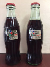 Coca-cola Commemorative Bottles, Ronald McDonald's House 10-year Anniversary