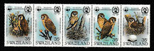 SWAZILAND 1982 SET IN A STRIP,  WILD LIFE CONSERVATION.   M.N.H.
