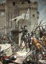 Joan of Arc Siege of Orleans Lenepveu 1890 France Jeanne d'Arc 7x5 Inch Print