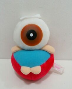 "Gegege no Kitaro Medama-Oyaji Onsen SEGA Banpresto 1992 Plush 5.5"" Toy Doll"