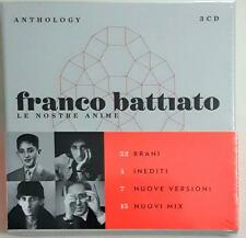 Franco Battiato ‎– Le Nostre Anime (Anthology)  3 Cd Sigillato Sealed