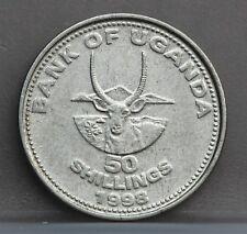 UGANDA - 50 Shillings 1998 - KM# 66