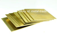 H62 Brass Flat Sheet Strip 6mm Thick Any Size Plate Bar Riveting Cutting Tool