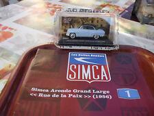 ALTAYA  IXO Simca Aronde Grand Large Rue de la Paix 1956 -  et fascicule - NEUVE
