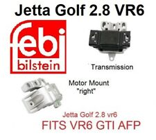 Engine Motor Mounts Set 3pc Kit For VW 2.8L AFP Engine /& Audi 3.2L