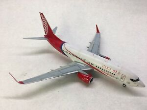 Built civil aircraft high quality model Boeing 737-700 Airbaghdad 1:144 scale.