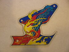 Pinball Earth Wind Fire Plastic G Right Kicker Inlane Original Zaccaria Flipper
