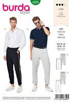 BURDA STYLE SEWING PATTERN 6350 MEN'S PANTS