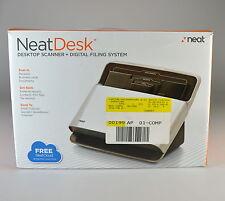 Neat Desk Desktop Scanner + Digital Filing System ND-1000 - For PC