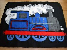 New Boys Rug Train Small Size Warm Fun Fluffy Furry Baby Bedroom Floor Mat Cheap