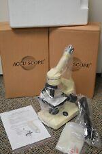Nos Accu Scope Sx Bl Biological Student Microscope New Open Box