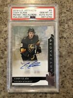 2019-20 UD Artifacts Cody Glass Auto RC PSA 10