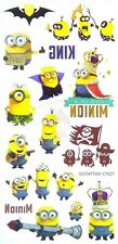 MINION WATER TRANSFER TEMPORARY TATTOOS FOR KIDS/KIDS GIFT