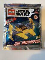 Lego Star Wars - Jedi Interceptor Foil Pack Polybag - 911952 - New & Sealed