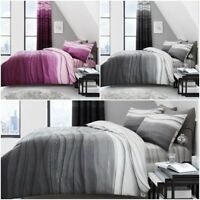Wave Ombre Pattern Luxury Modern Stylish Duvet Covers Reversible Bedding Sets GC