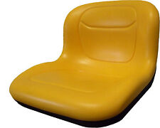 XB150 Quality Yellow All-Weather Pan Seat FORKLIFT/DUMPER/MOWER/TRACTOR/BOAT