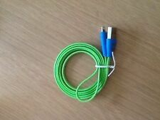 Smiley Face Flat Data Cable with LED Light for iPhone 5 IN 5 DIFFERENT COLORS...