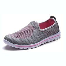DailyShoes Women's Sneakers Slip-on Running Walking Memory Foam Breathable Shoes