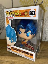 Funko Pop! Vinyl Animation Dragon Ball Z SSGSS Goku (Kamehameha) #563 Exclusive