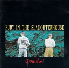 FURY IN THE SLAUGHTERHOUSE : PURE LIVE ! / CD