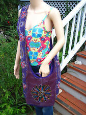 Sun Design OM Patchwork Cotton Bag purse, crossbody, hippie, boho, handmade
